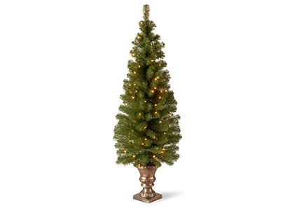 pre-lit montclair spruce