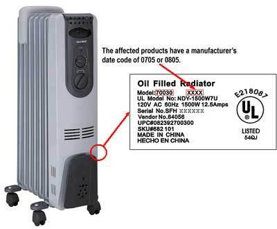 space heater and water heater recalls page 2 rh consumeraffairs com