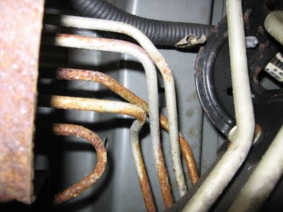 rusted brake lines to abs consumers complain of corroded brake lines in older gm trucks