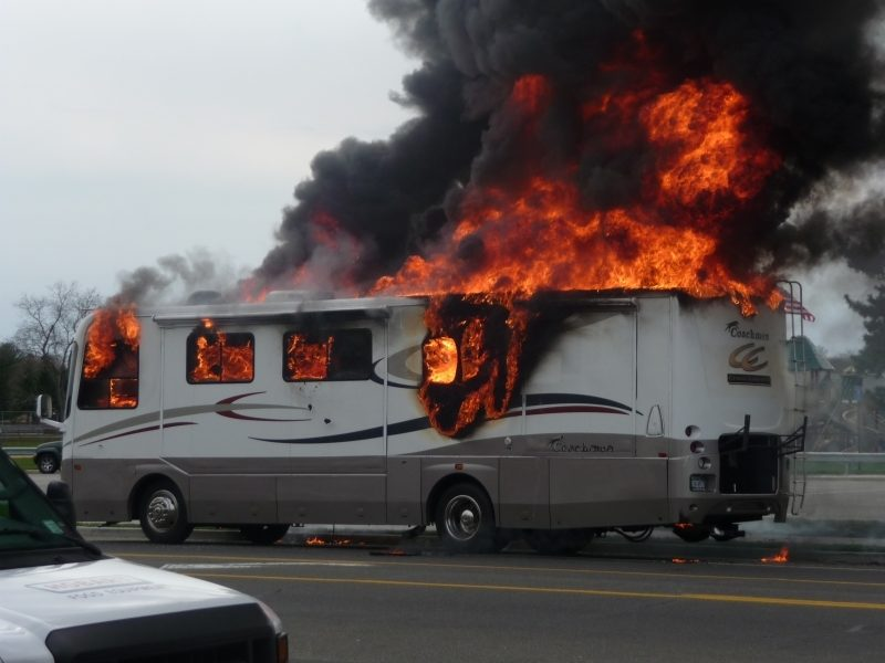 Class Action Targets Rv Refrigerator Fires
