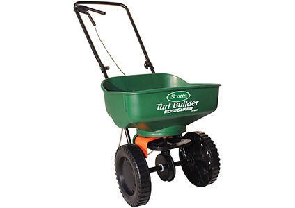 scotts turf mini broadcast spreader