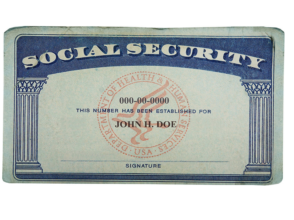 Have Social Cards Security Numbers New Medicare Won't