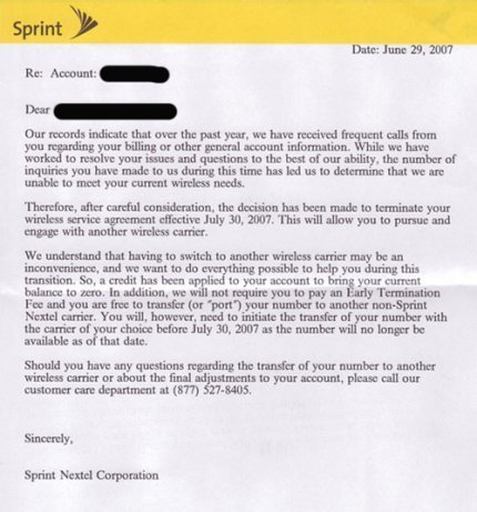 sprint customer service center