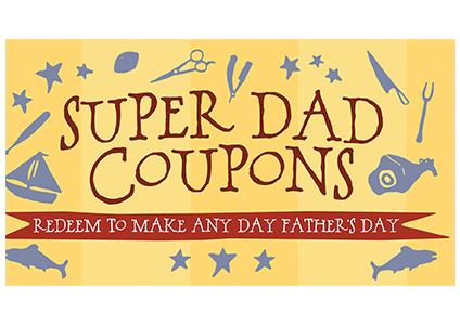 super dad coupons book