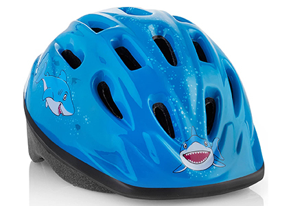 teamobsidian shark kids helmet