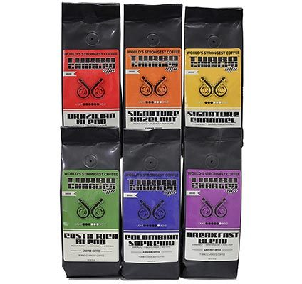 turbo charged coffee sampler
