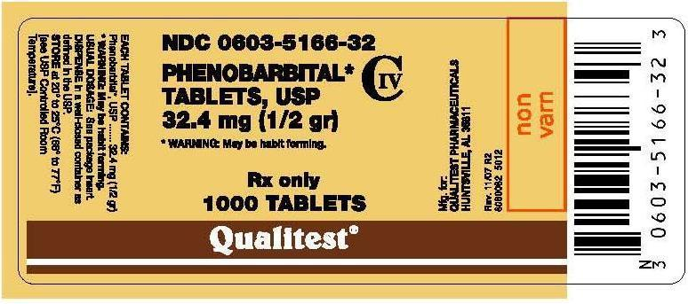 5012 Phenobarbital Label
