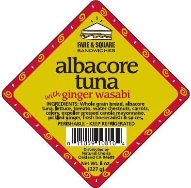 Albacore Tuna Label