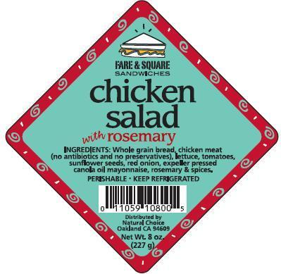 Chicken Salad Label