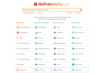 wolframalpha main