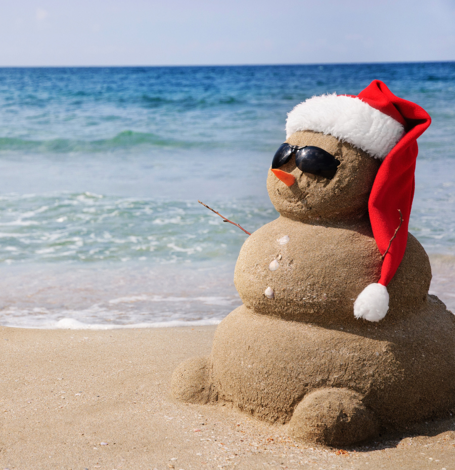 hot weather christmas carols for the southern hemisphere - Beach Christmas Pictures