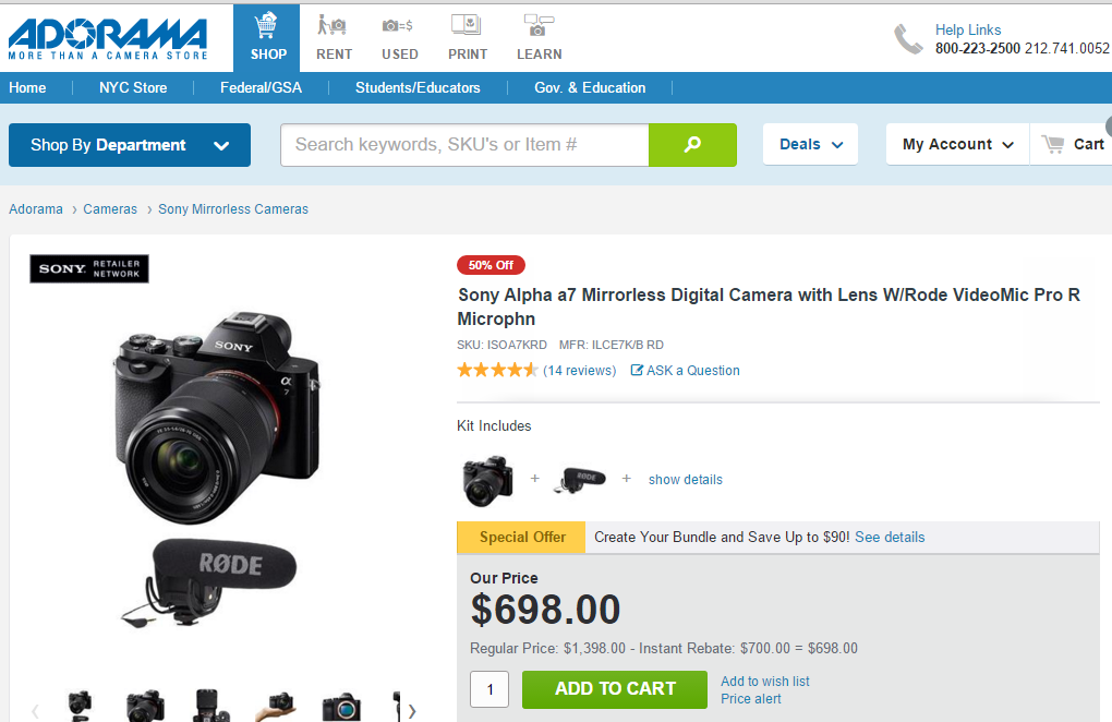 Top 193 Reviews and Complaints about Adorama Camera | Page 2