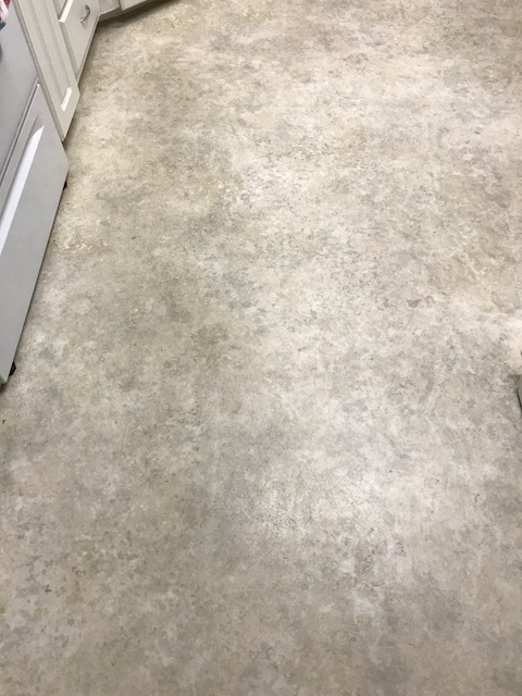 Several Months Ago We Had Lake Hamilton Flooring Of Lake Hamilton Florida  Install A Vinyl Floor In Our Kitchen. About Six Weeks Later, We Noticed  That There ...