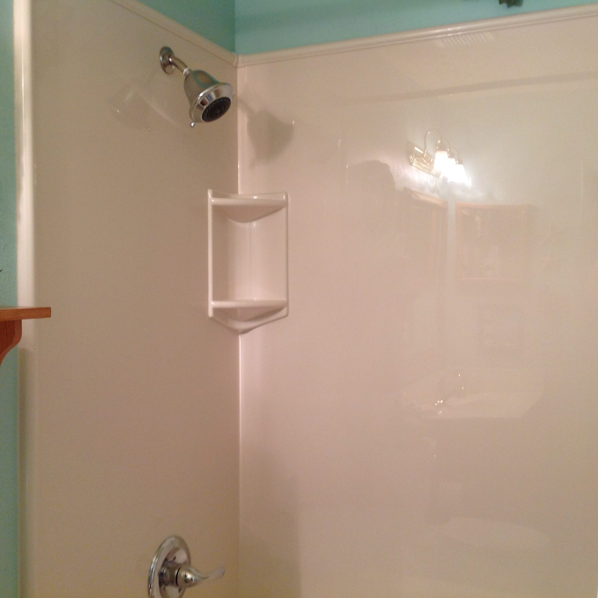 Bath Fitters Review Our new shower from Bath FittersUncle Andrew