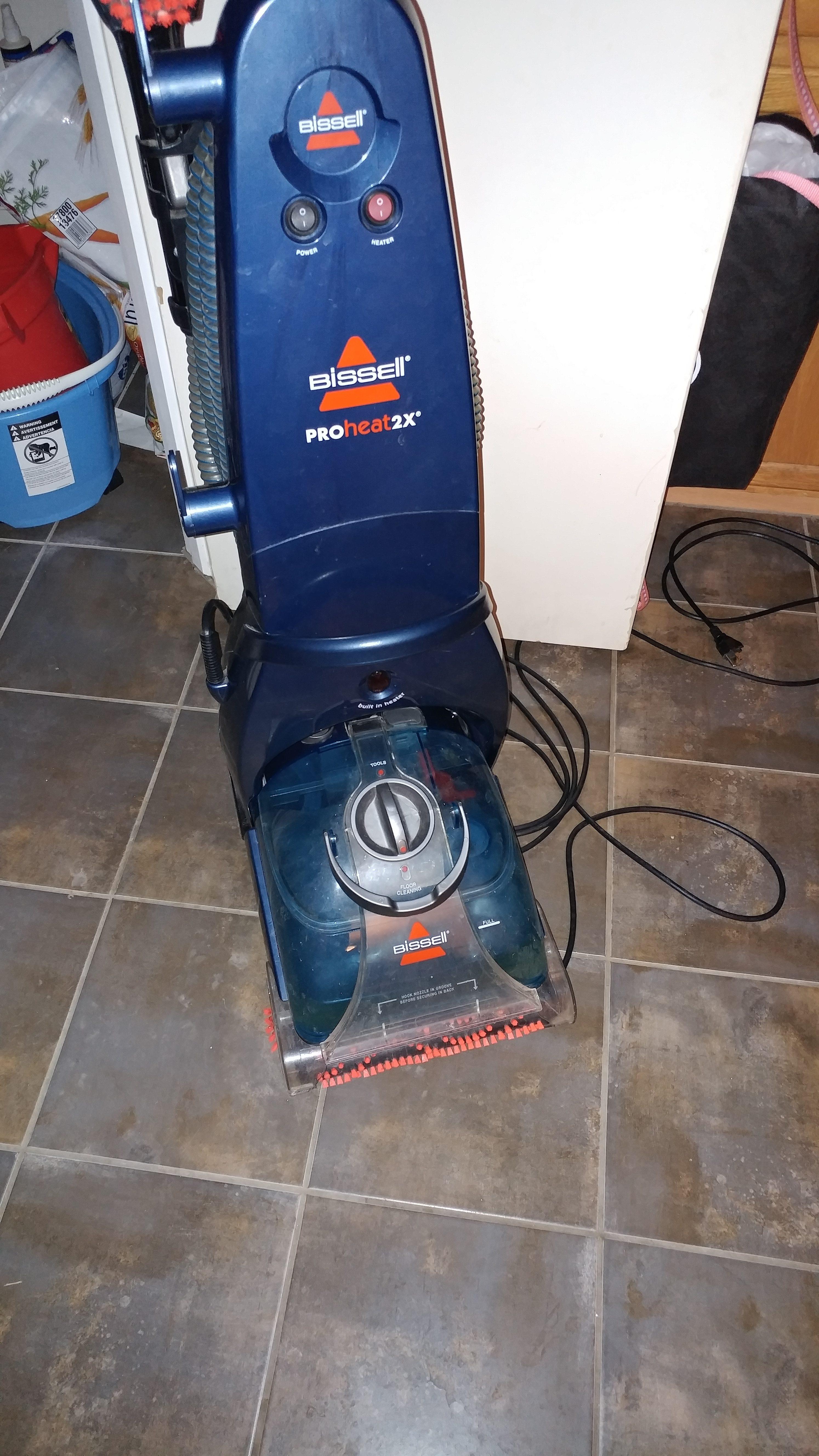 Wetness Comparison Carpet Cleaning