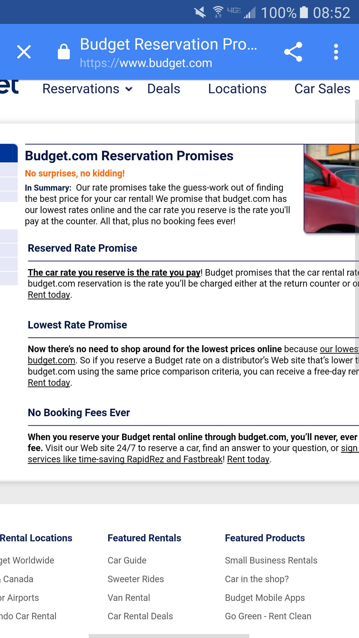 top 1 223 complaints and reviews about budget rent a car. Black Bedroom Furniture Sets. Home Design Ideas