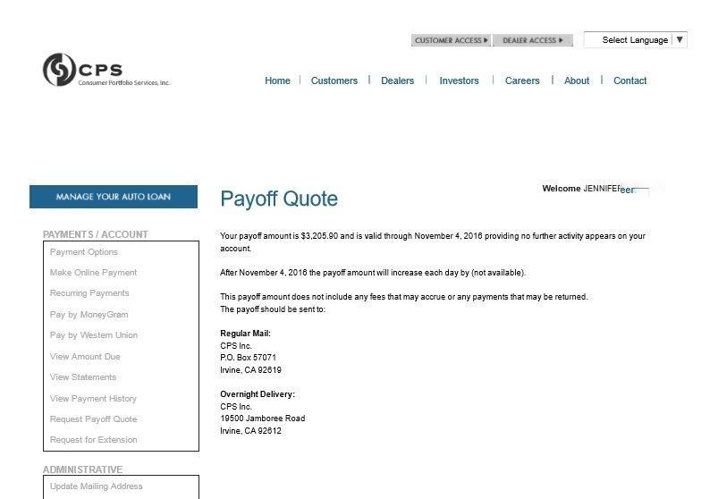 Top 99 Complaints and Reviews about Consumer Portfolio Services