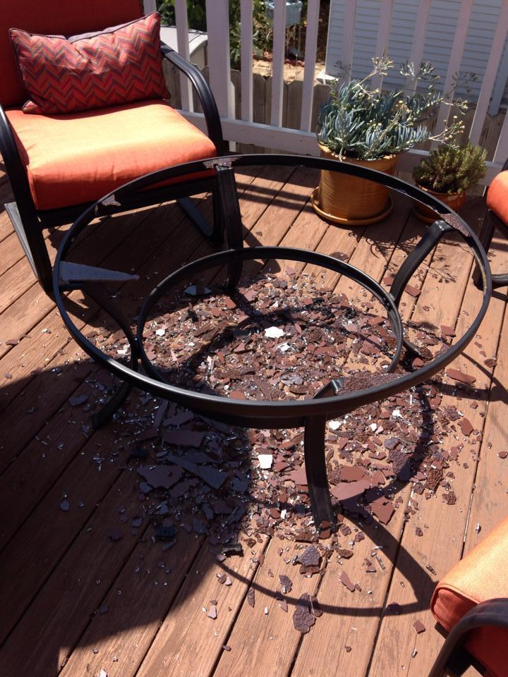 I Ordered The Mainstays Pyros 5 Piece Patio Conversation Set From Walmart  In February 2014. It Arrived With Two Pillows Missing And One Of The Chair  Frames ...