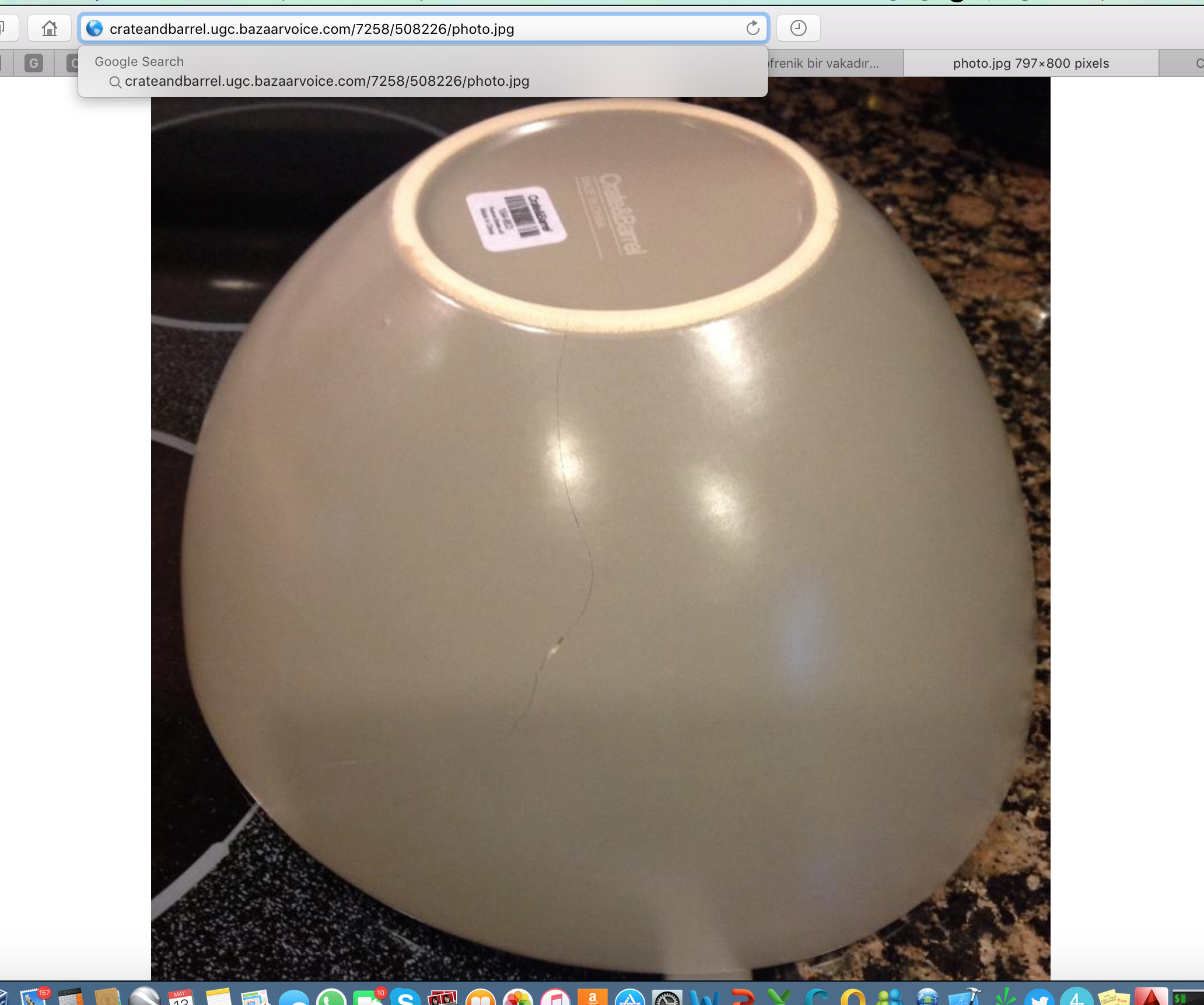 Crate and barrel sofa quality - I Ordered A Set Of Bowl From Crate And Barrel Website And The Largest One Came Out Broken I Thought It Was Probably Fedex Carrier S Fault And Contacted