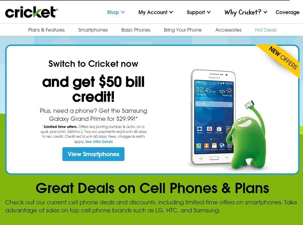 how to send an email to a cricket cell phone