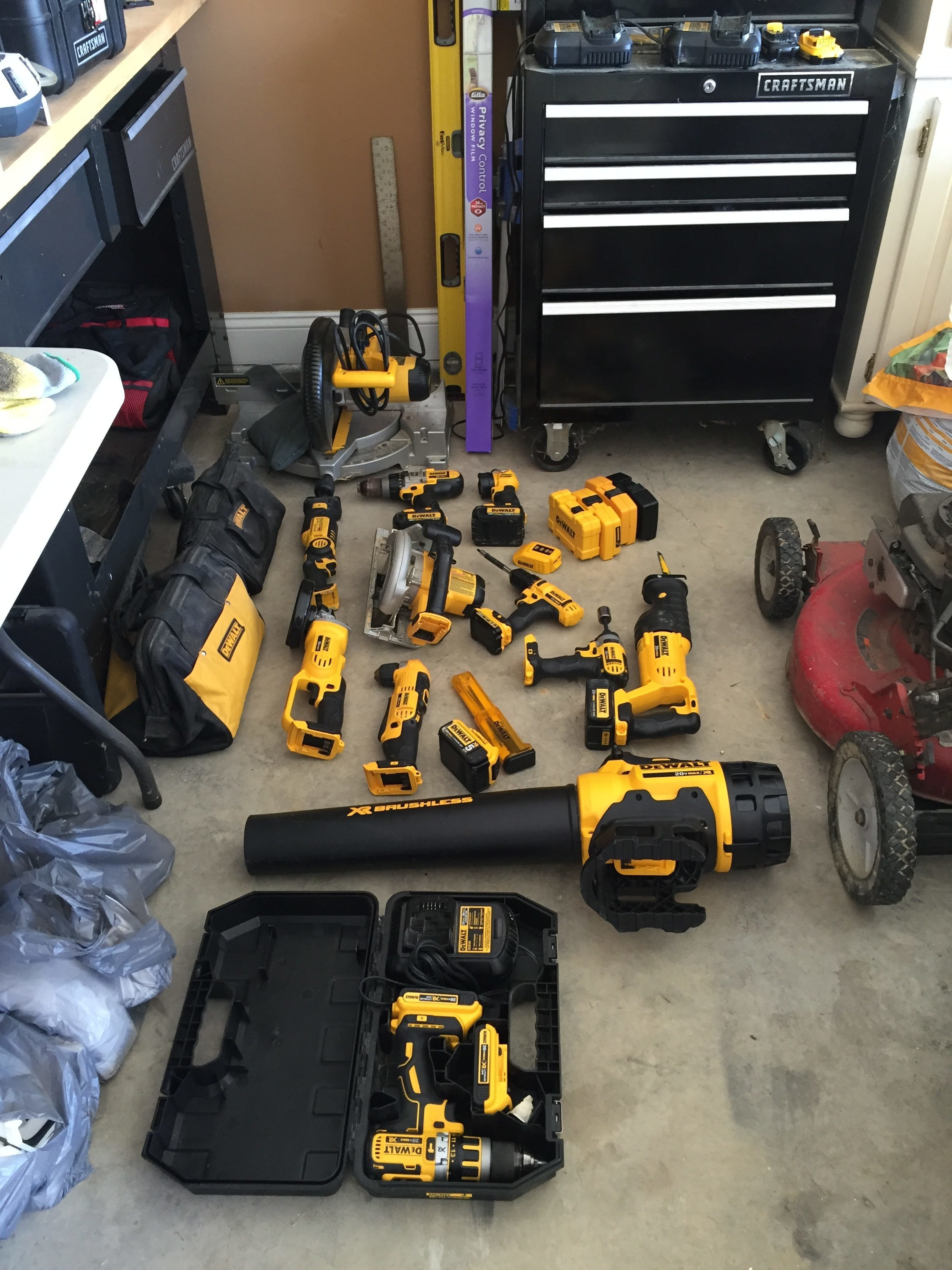 i have bought this d51238k dewalt brad nailer for various projects around my house i have owned it just over a year and have had minimal usage on it