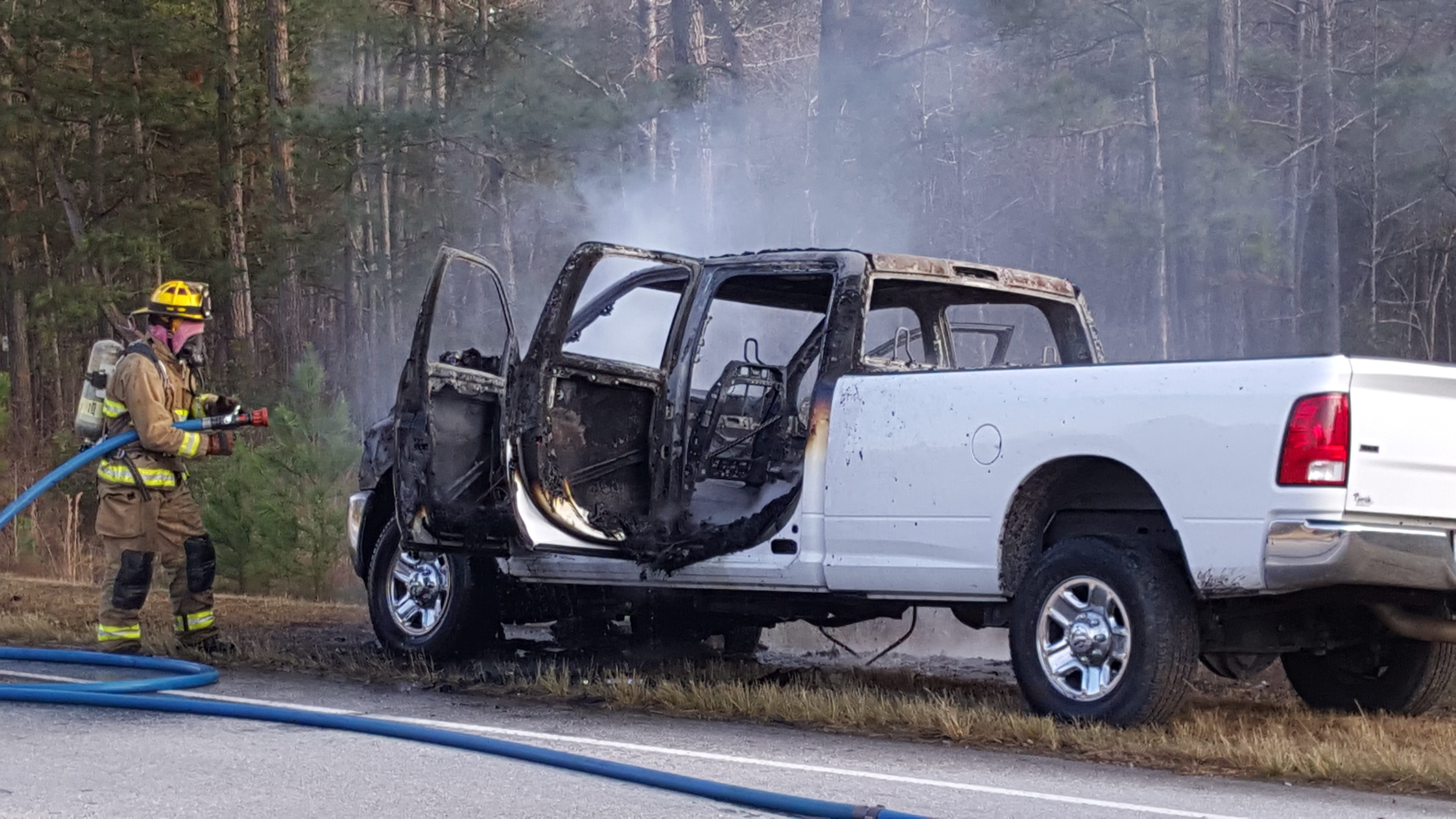 I Was Driving Home On December 8, 2016 When I Noticed Smokeing From The  Passenger Side Under The Dash Within Seconds Flames Came Through The  Fabric