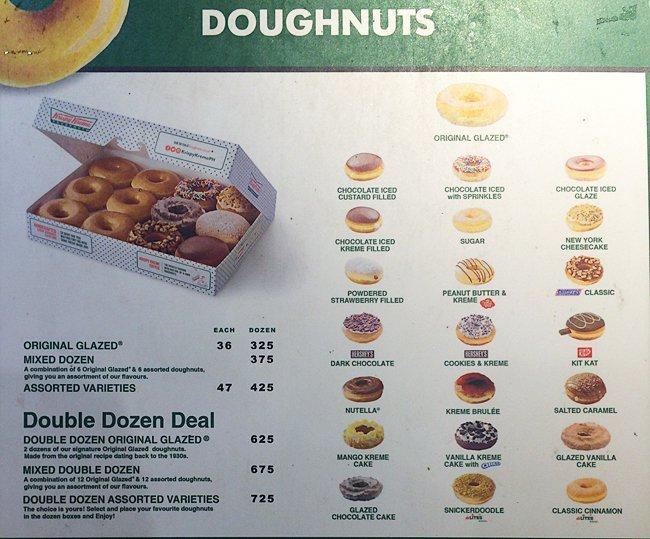 krispy kreme swot philippines Strengths • kkd produces approx 55 million doughnuts a day consisting of over  20 categories • kkd doughnuts are available in super.