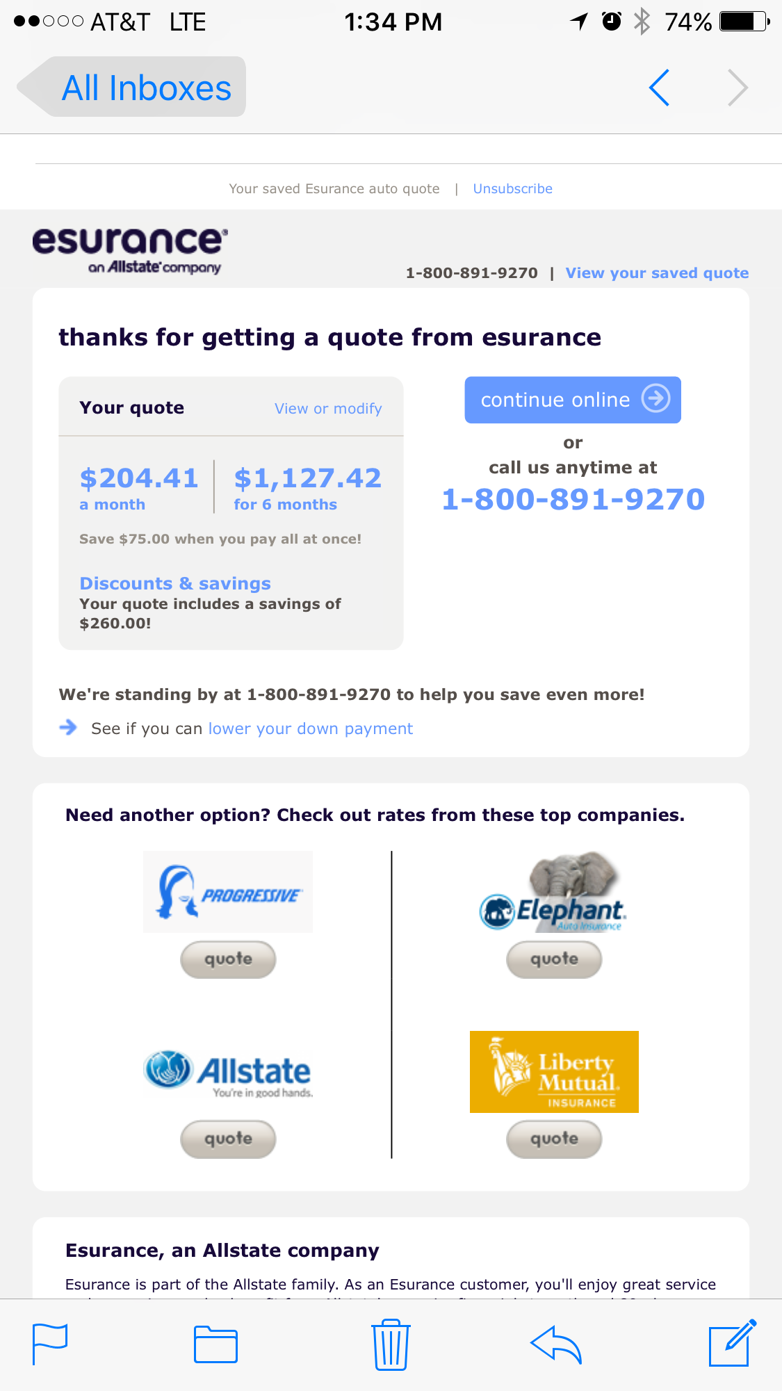 Allstate Online Quote Esurance Auto Insurance Quote