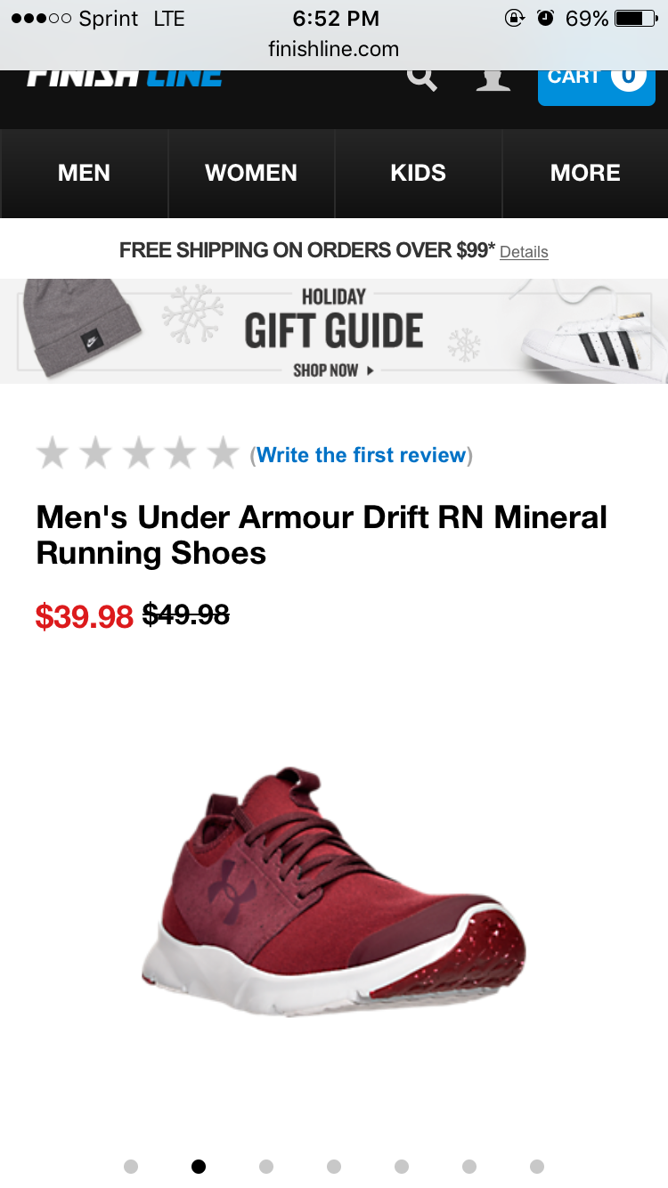 Top 171 Complaints and Reviews about Finish Line