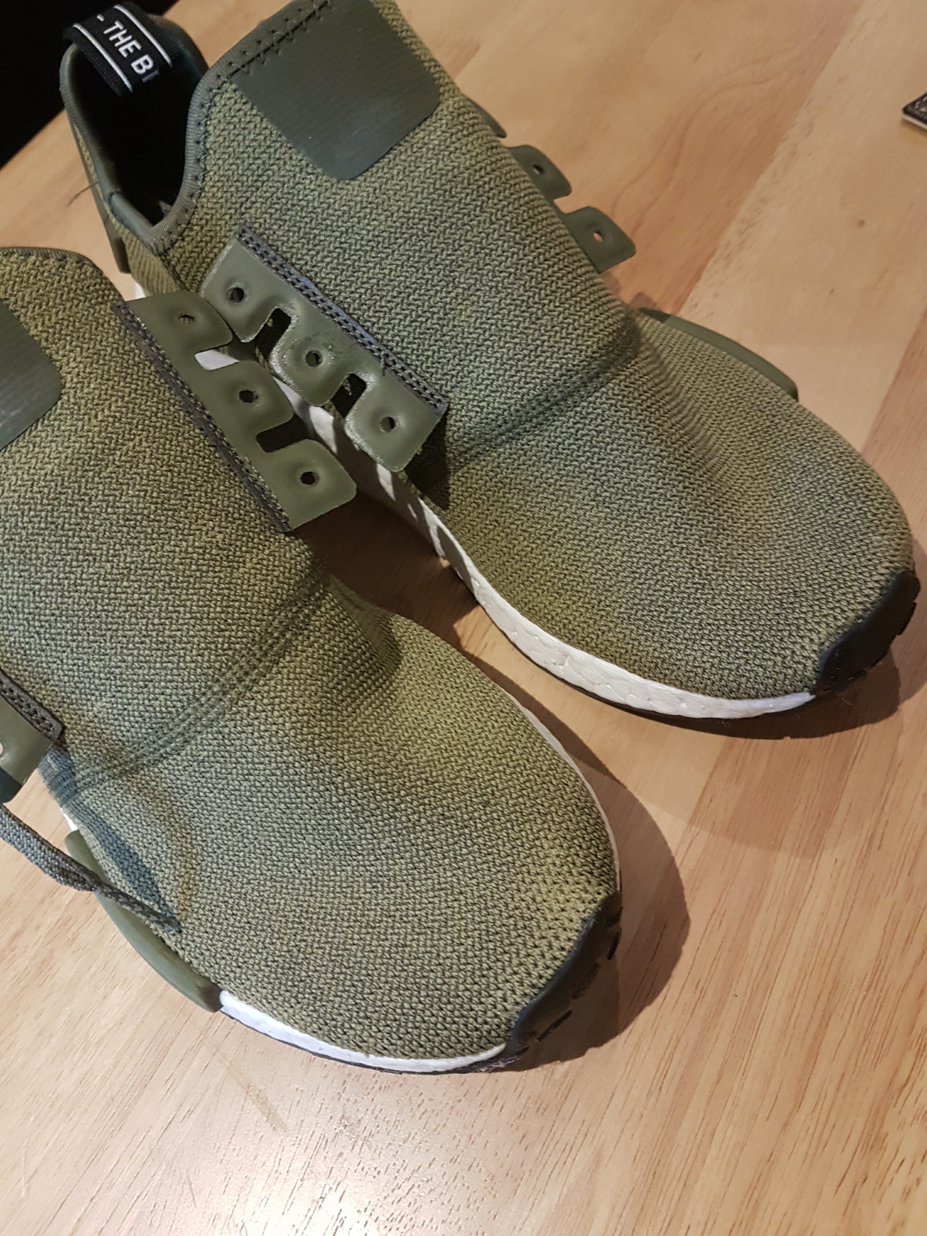 Top     Complaints and Reviews about Footlocker Consumer Affairs I purchased from Footlocker a pair of Olive NMD     s almost two months ago  After wearing them     times  the colour started to fade
