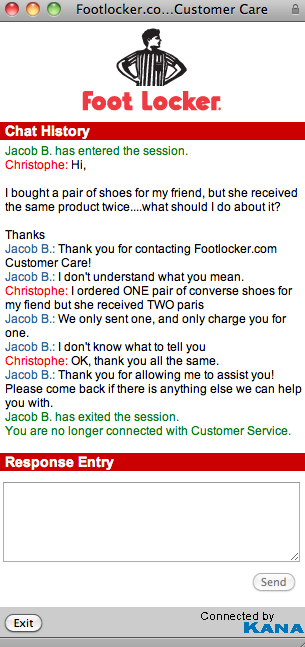 how to cancel order on footlocker