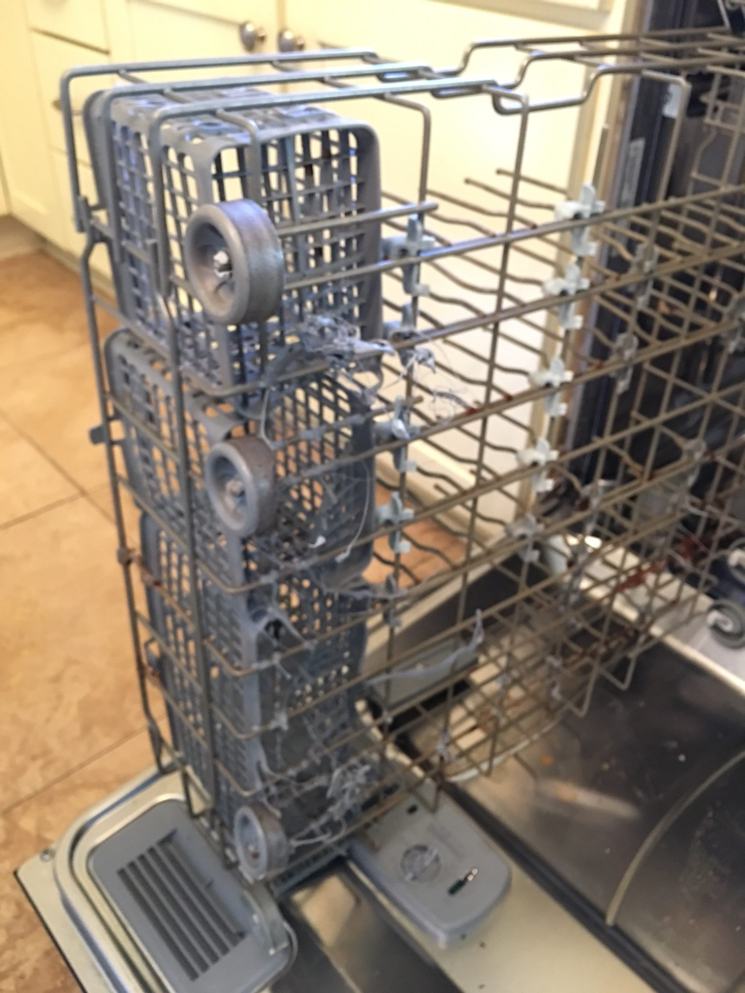 Can you hire someone to fix a GE portable dishwasher?