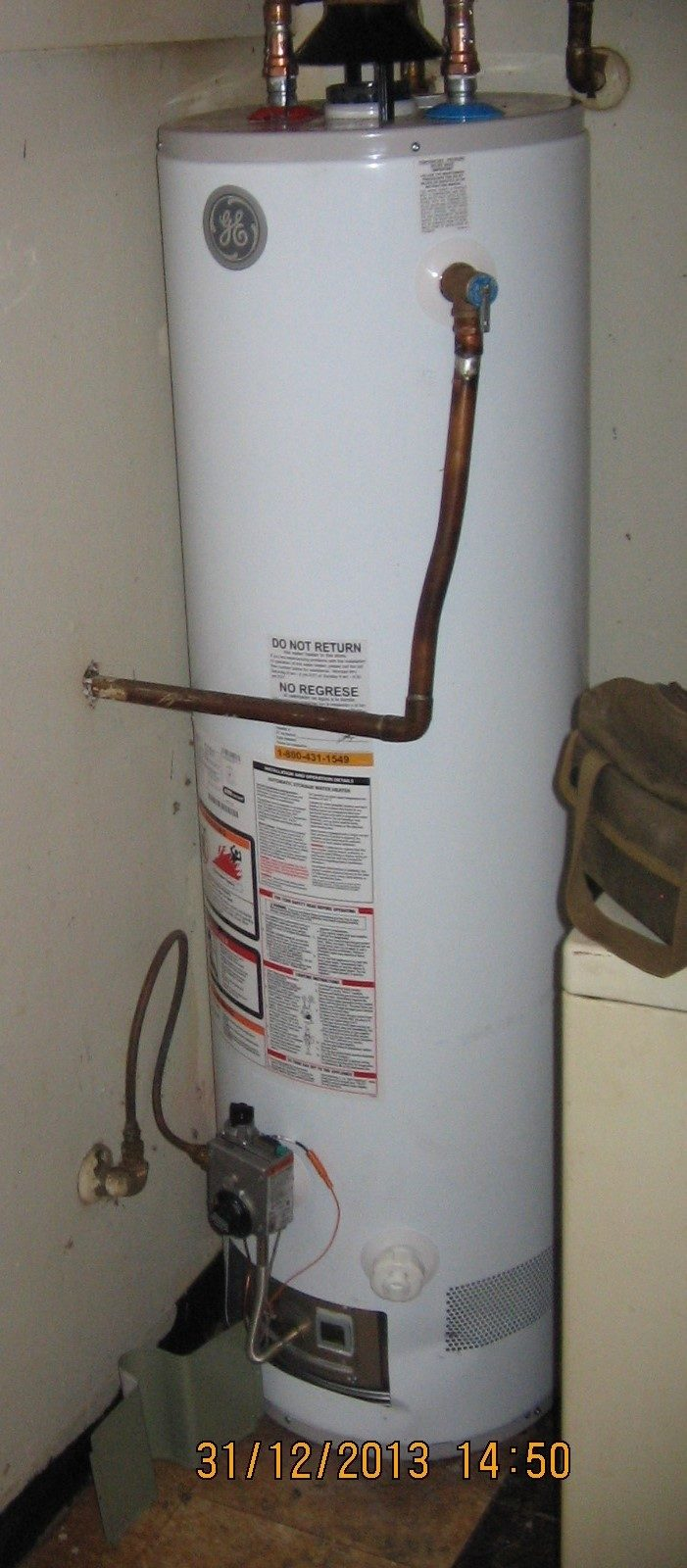 Ge Electric Water Heater 58