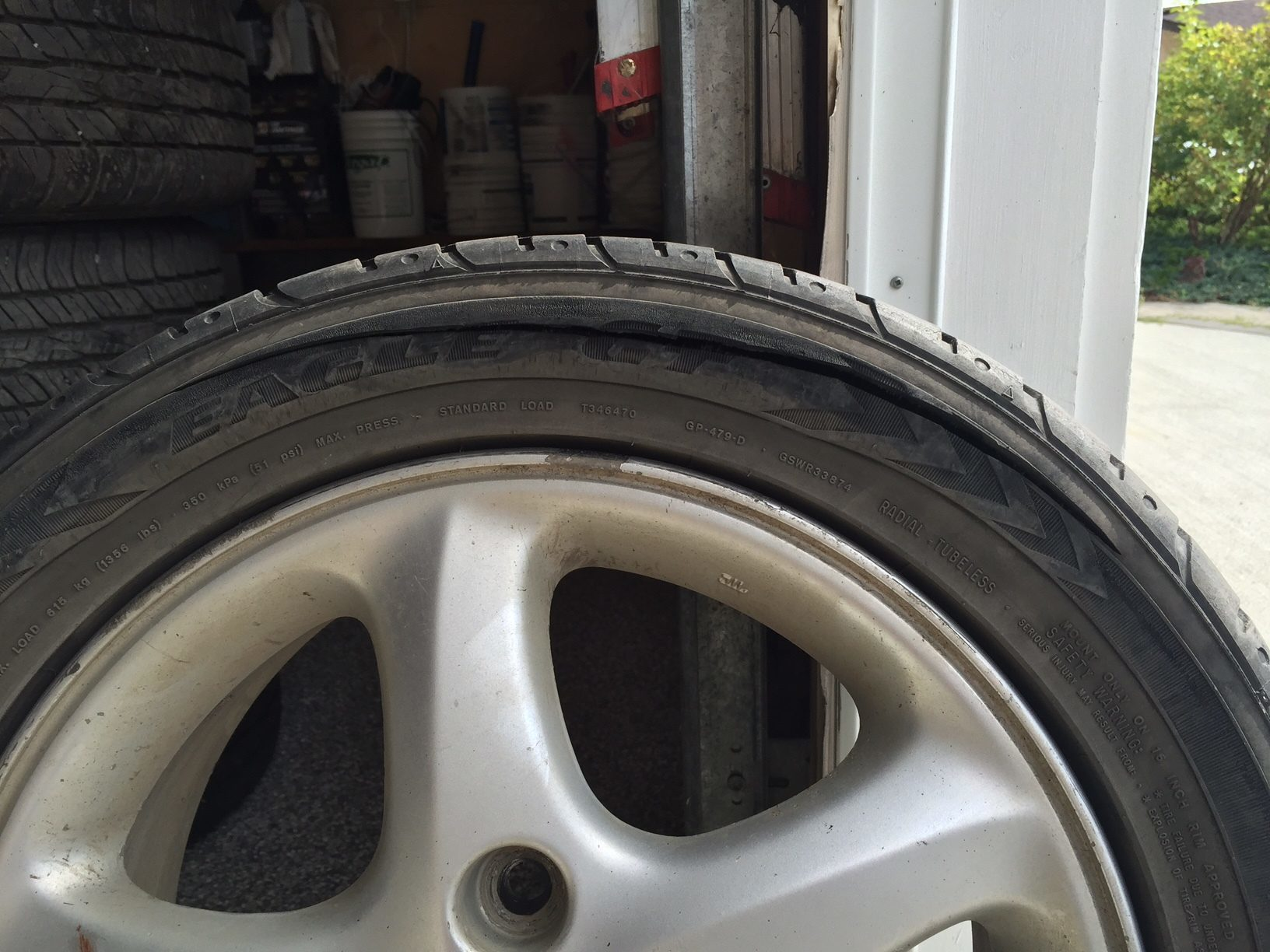 How do you fix a tire that makes excessive noise?