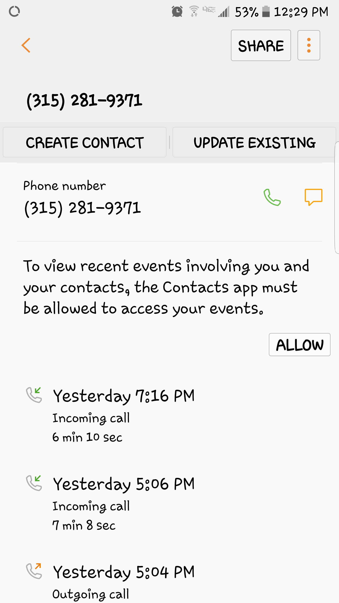 Yesterday My Phone Started Ringing The Number Started With A + Sign And  Said Egypt I Usually Don't Answer My Phone But For Some Reason I Did