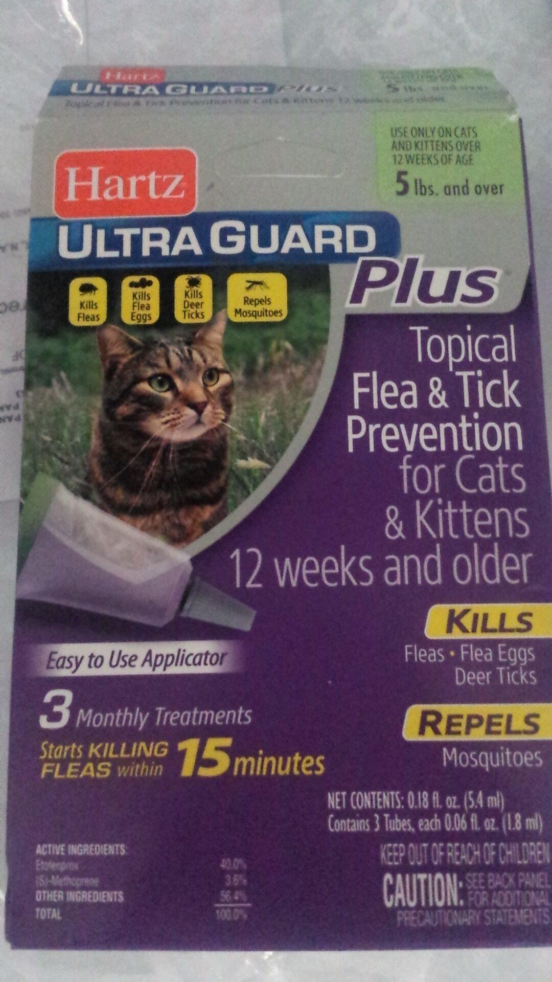Hartz Cat Flea And Tick Drops Reviews