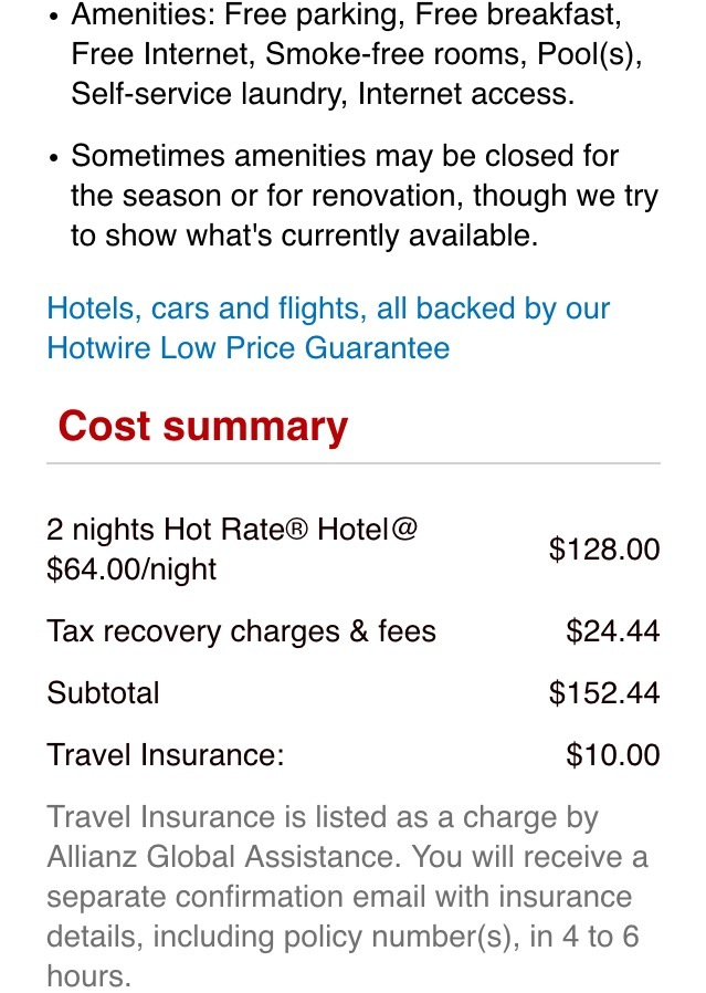 how to cancel a hotwire hotel reservation