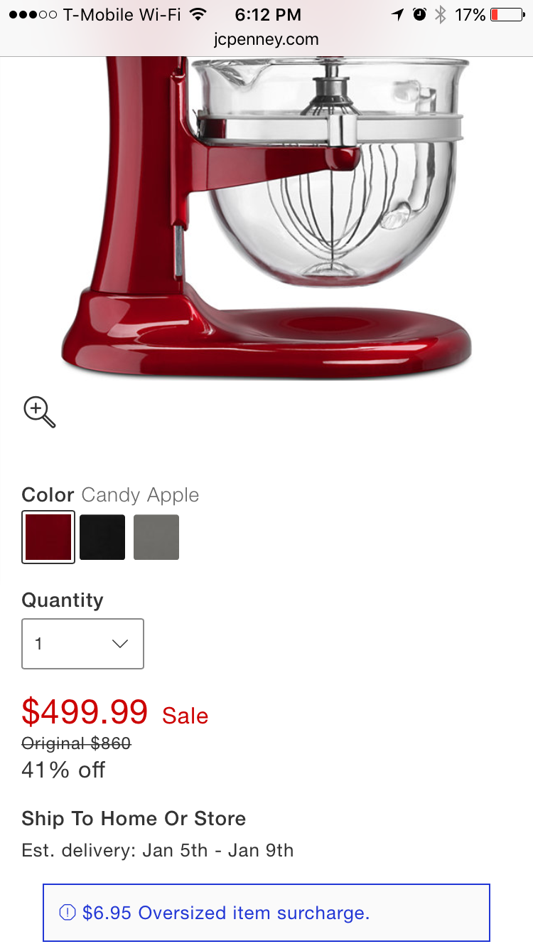 We Have Been Shopping For A Kitchenaid Professional 600 Stand Mixer On A  Number Of Different Sites The Kitchenaid Site, The Makers Told The  Product,