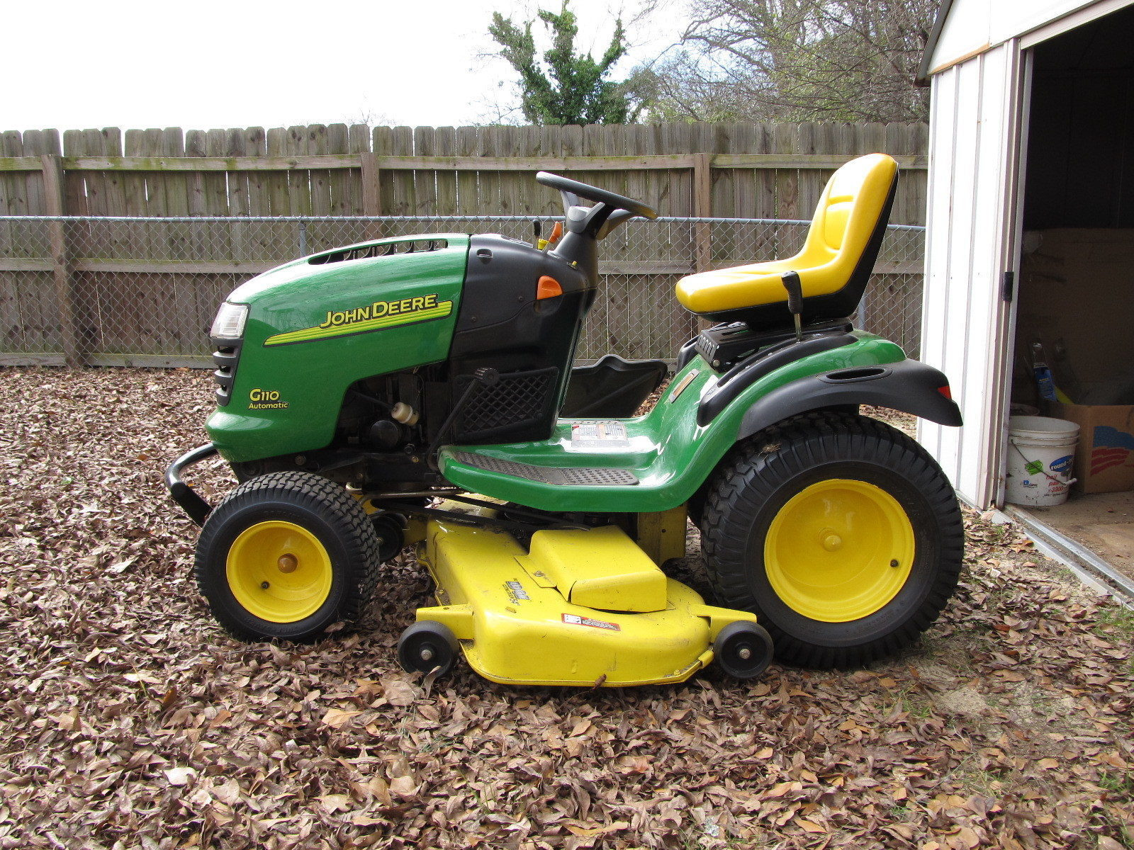 X350 Lawn Tractor with 48inch Deck  John Deere