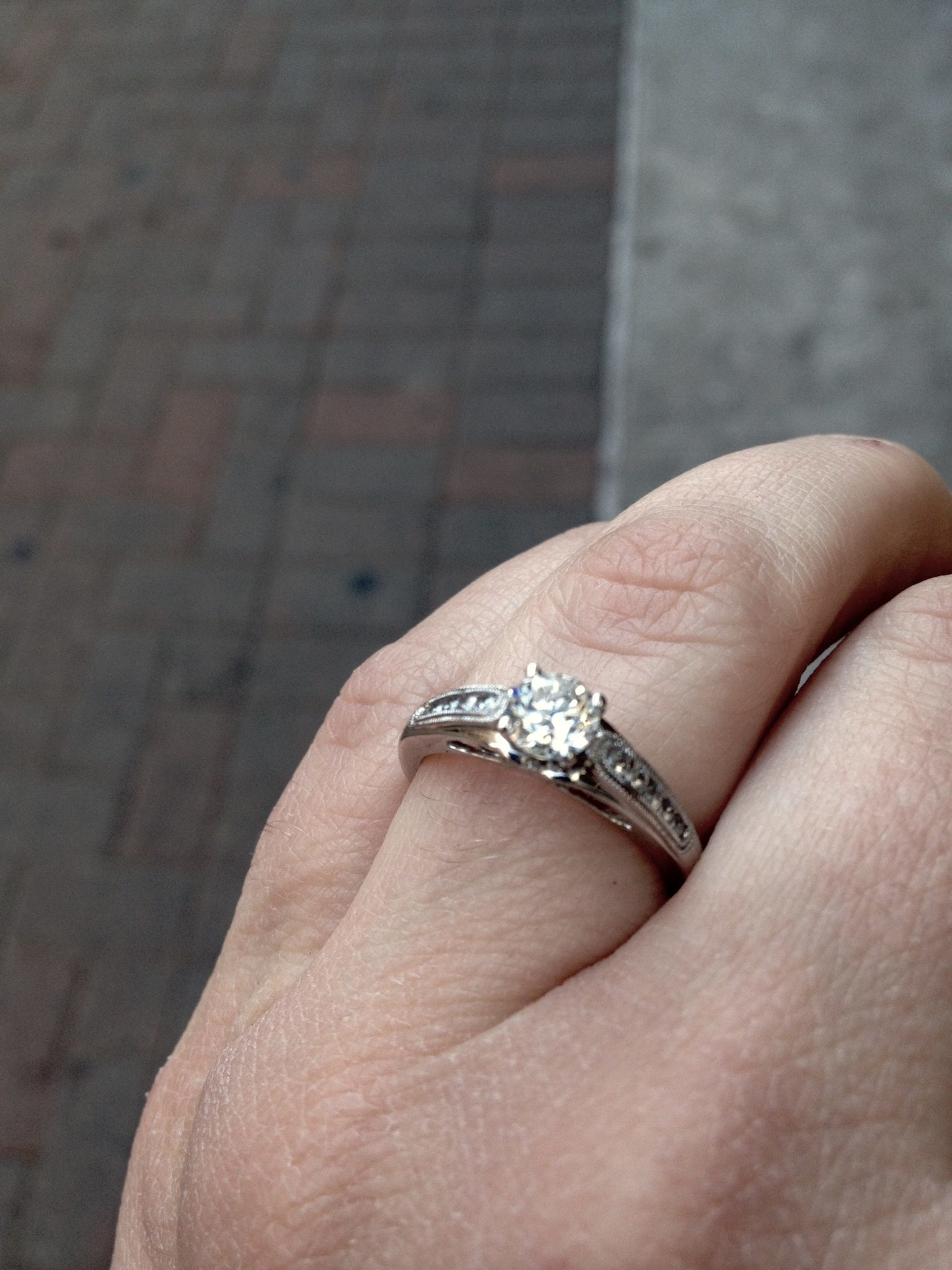 kay jewelers kay wedding rings sets My fiance and I went into Kay Jewelers in January to shop for an engagement ring The saleswoman was very friendly and helpful