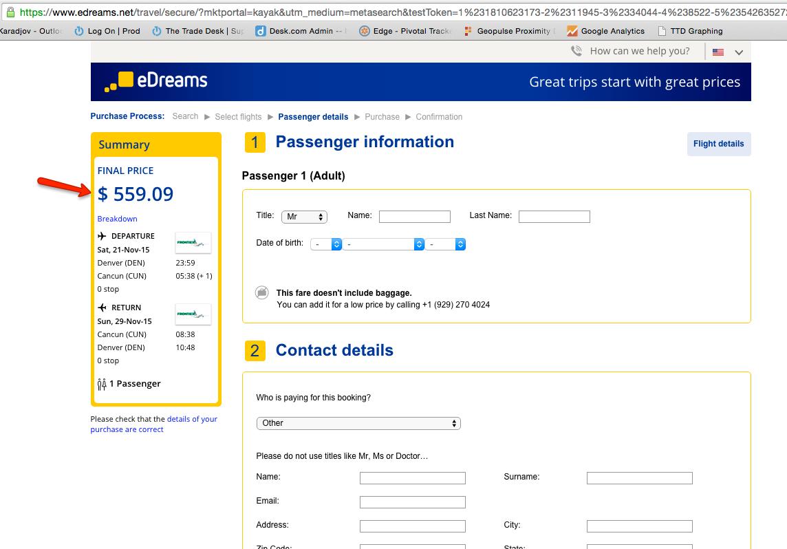 cheap international airline tickets kayak