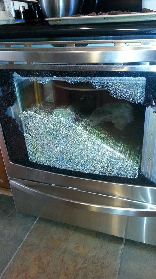Oven Glass Door Shattered Image Collections Doors Design For House