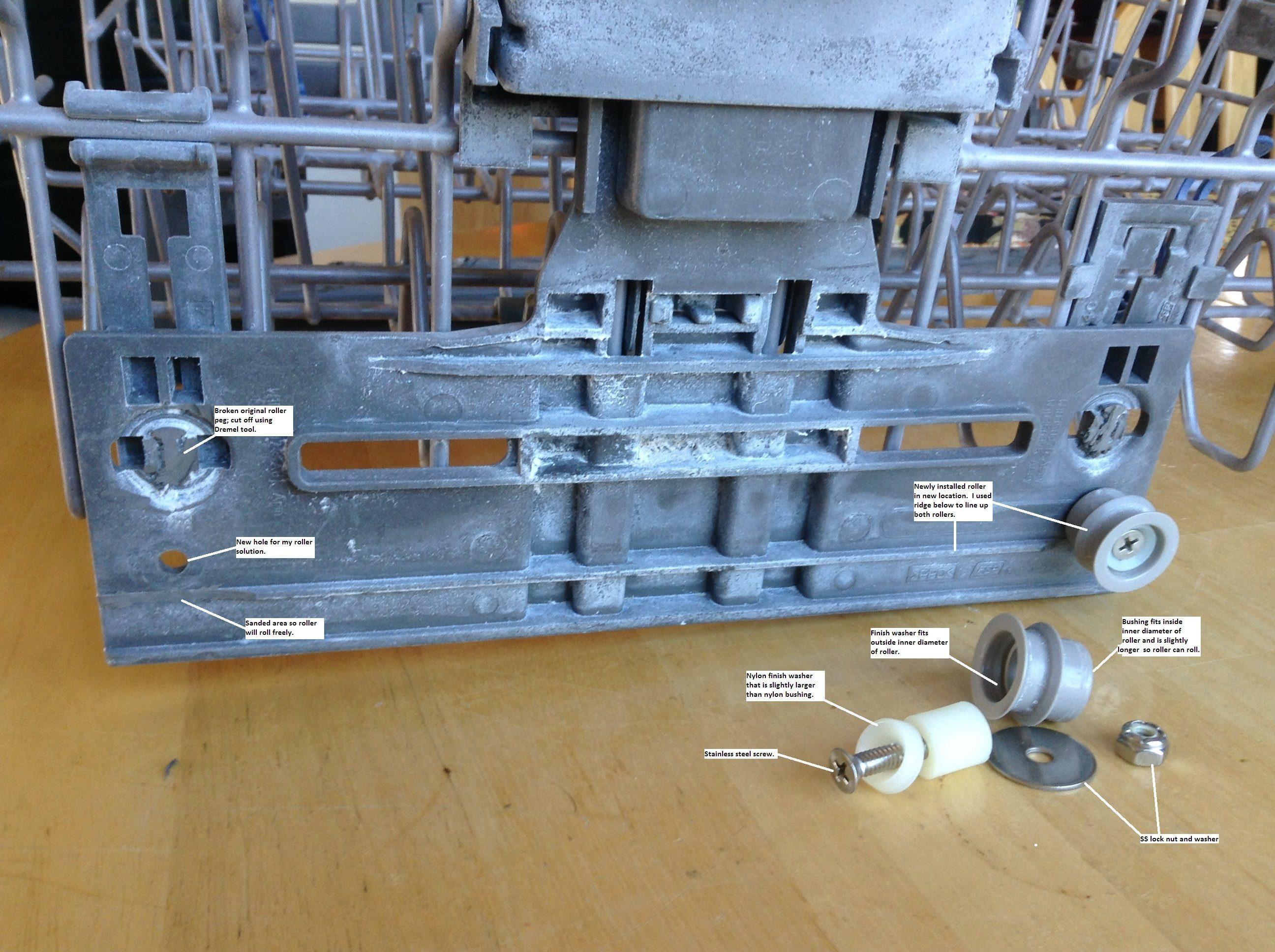 kitchenaid quiet scrub dishwasher parts : clairelevy