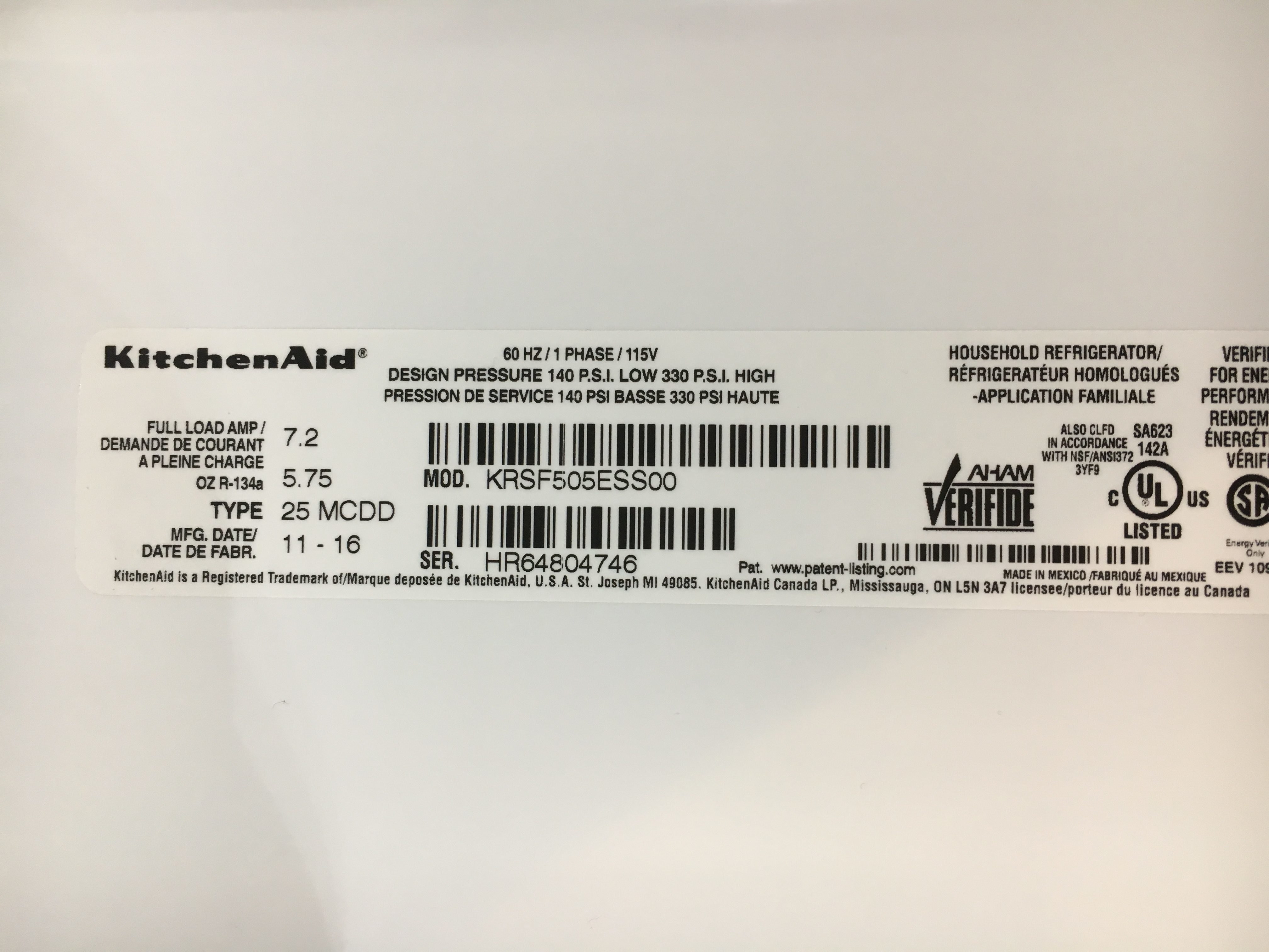 Kitchenaid Refrigerator Not Cooling Properly top 807 reviews and complaints about kitchenaid refrigerators