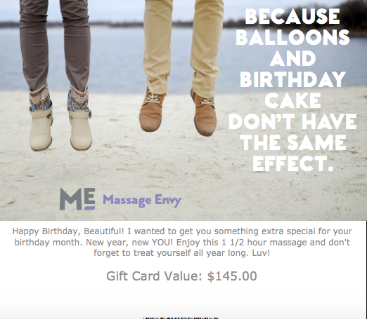My sister booked a massage for me as a birthday gift. I arrived at Massage Envy after an extremely s tressful few days, but when I left I was floating in the clouds, thanks to Erin:)/5(22).