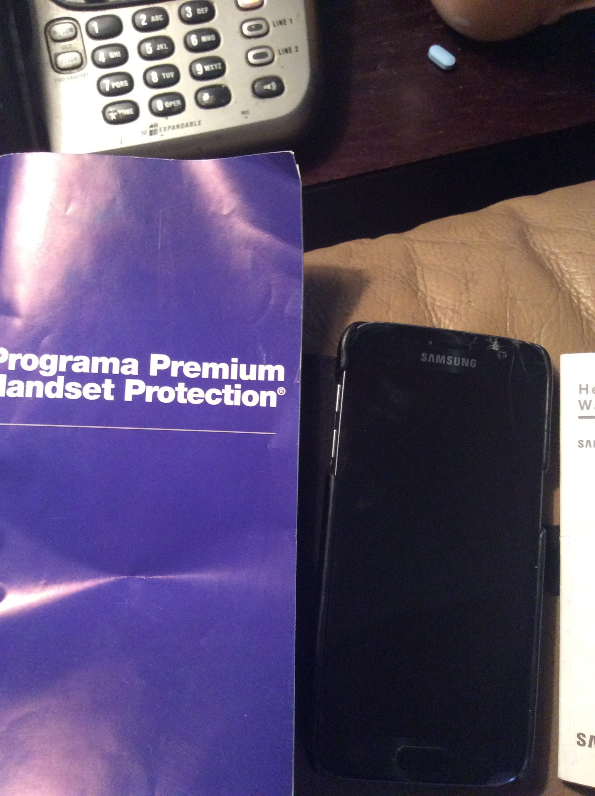 Bought Samsung S7 2 Months Went Black Had Insurance, Etc Email Sent For  Me To Pay $182 Power Up Problem Went To Pay Rejected Payment