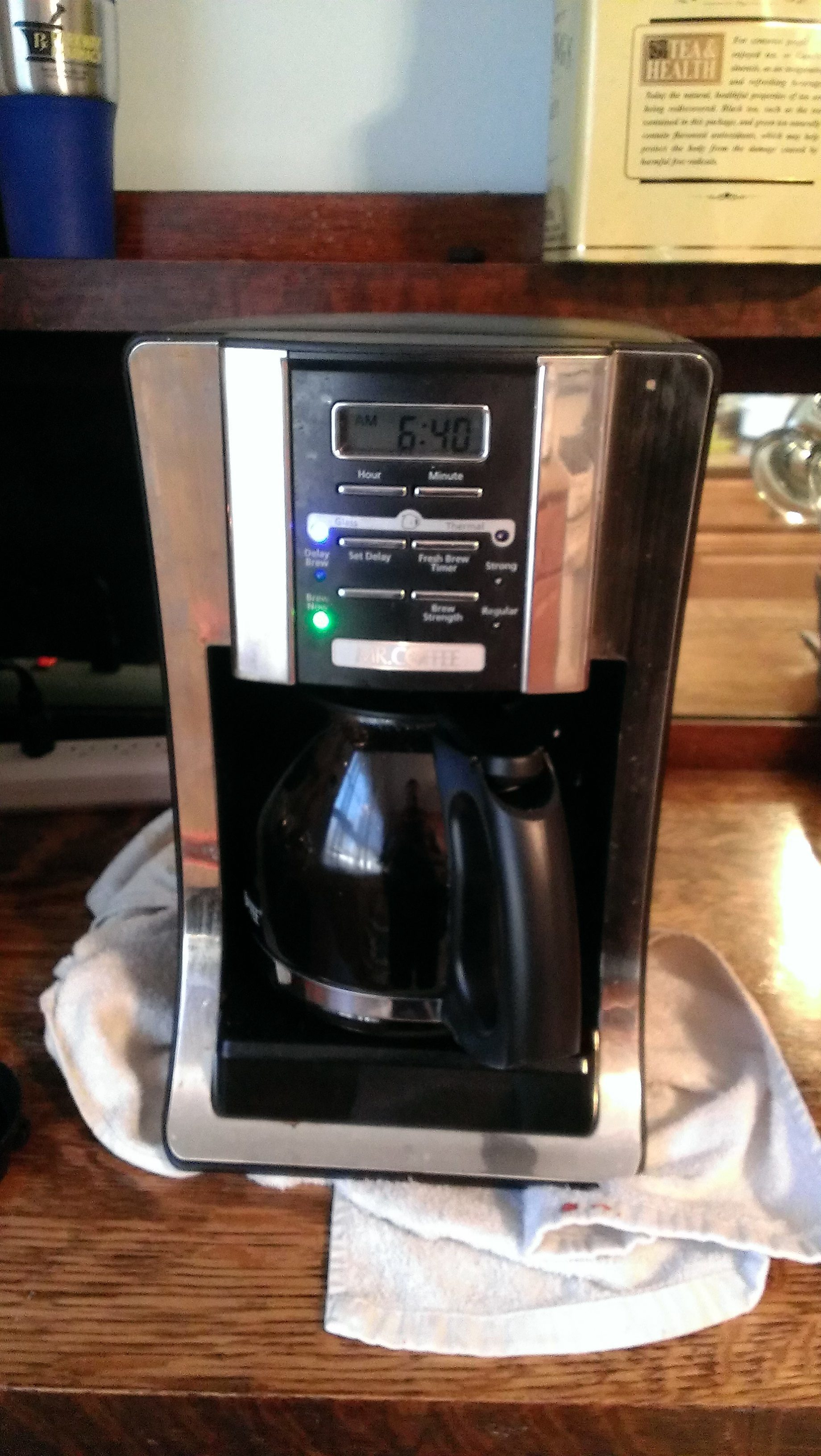 Cuisinart Coffee Maker Problems Leaking : Bunn Coffee Pot Leaking. Simple Cuisinart Coffee On Demand Coffee Maker With Bunn Coffee Pot ...
