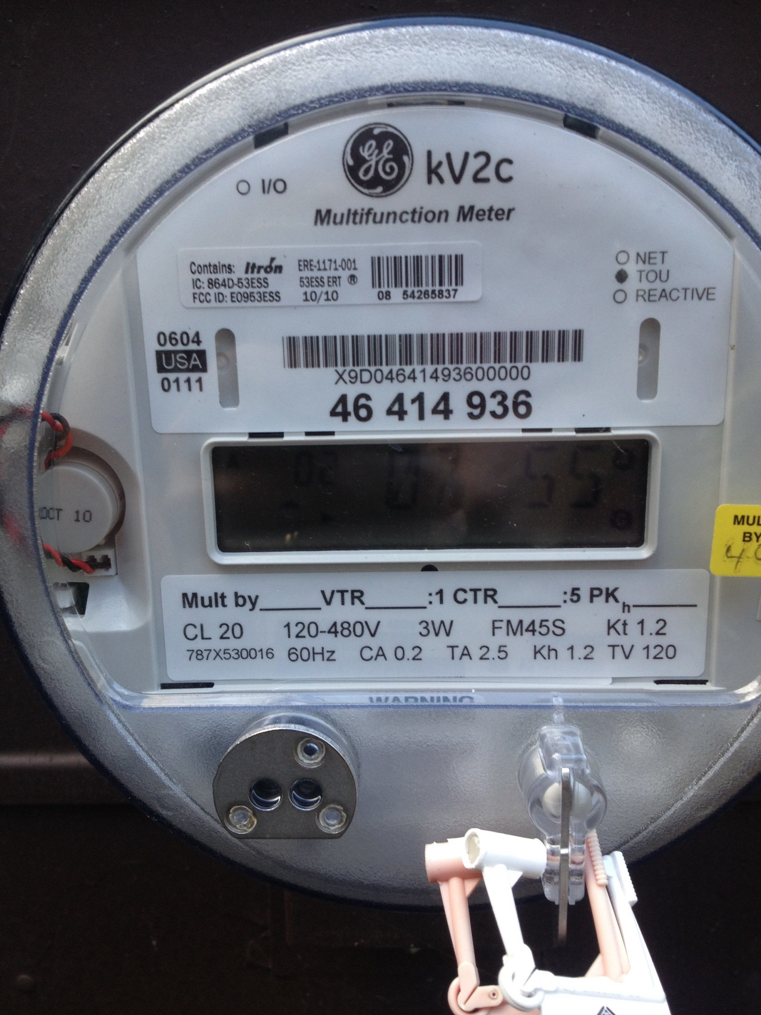 Electric Meter Number : Top complaints and reviews about national grid page
