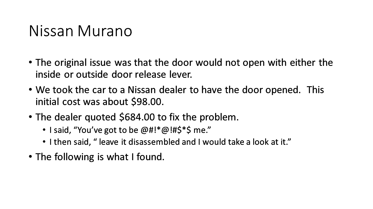 Top 266 reviews and complaints about nissan murano page 4 view all 6 images vanachro Choice Image