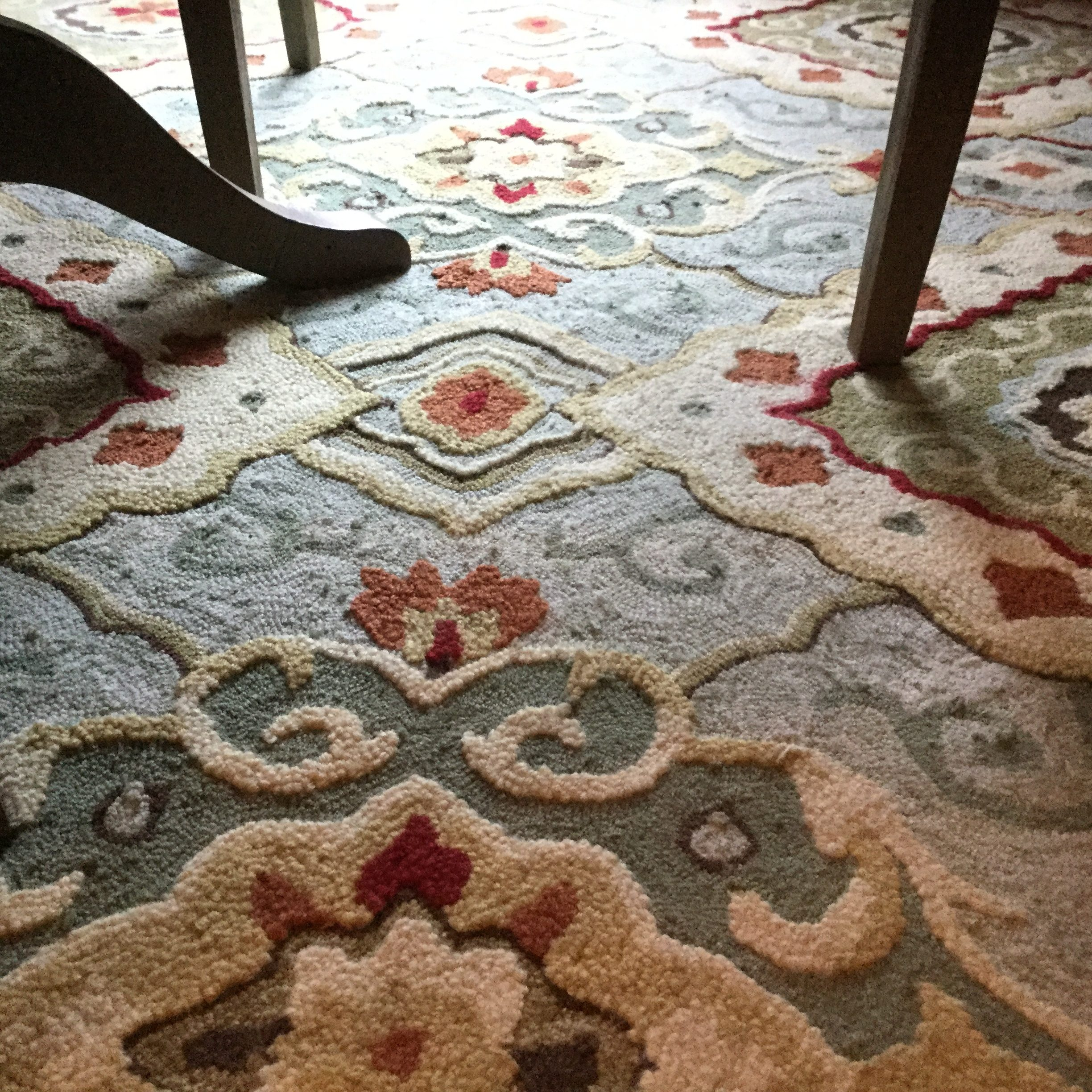 I Bought A Beautiful Area Rug And Two Rug Runners For My Kitchen Remodel.  All Of The Colors Of The Room Came From The Rug. Within 6 Months This Rug  Looks ...